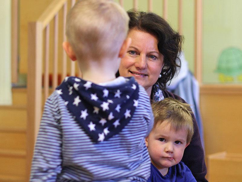 Pädagogin - Eingewöhnungsphase Kinder